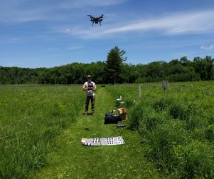 Veg mapping with drone